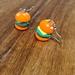 Burger Clay Earrings