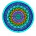 A4 Art Print - Mandala