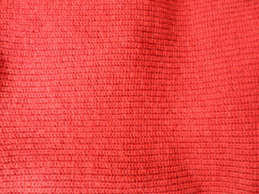 Rusty Red Wool Reconstructed Scoody