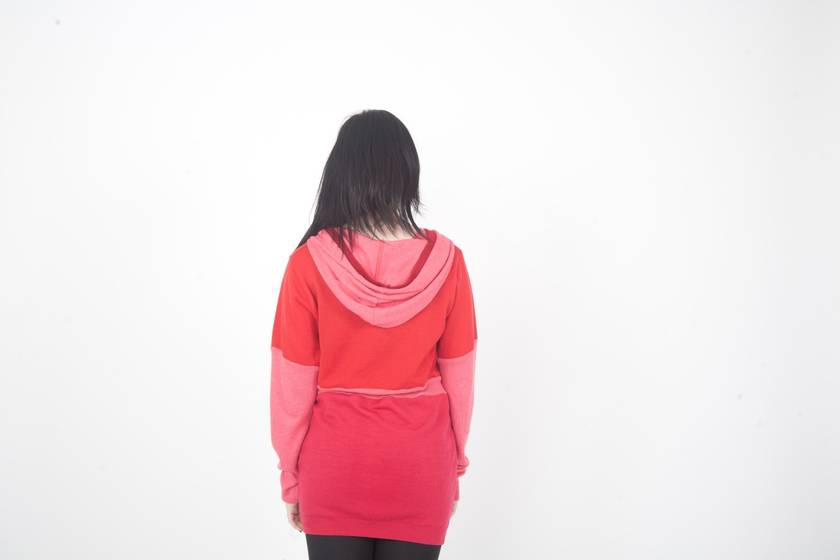 SALE- Merino Hooded Jersey 12-14