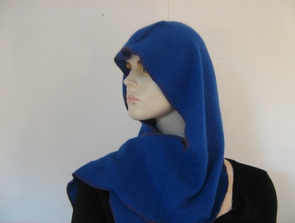 Blue Wool Reconstructed Scoody