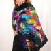 Unique merino warm & soft shawl