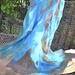 Amazing Turquoise shawl