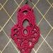 Crochet Pendant Earrings
