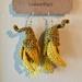 Crochet Kōwhi Flower Earrings