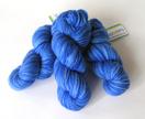 Hand-dyed merino yarn