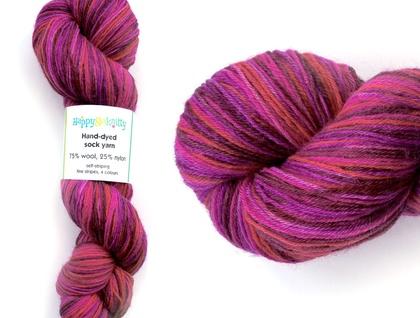 Wool/nylon sock yarn