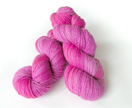 Hand-dyed merino/possum yarn