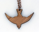 Dive for it Bird Pendant In rimu