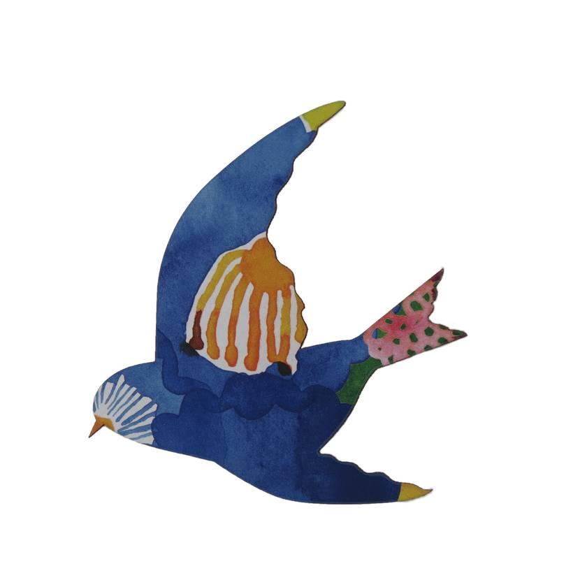 Watercolour Delight Wall Art Birds