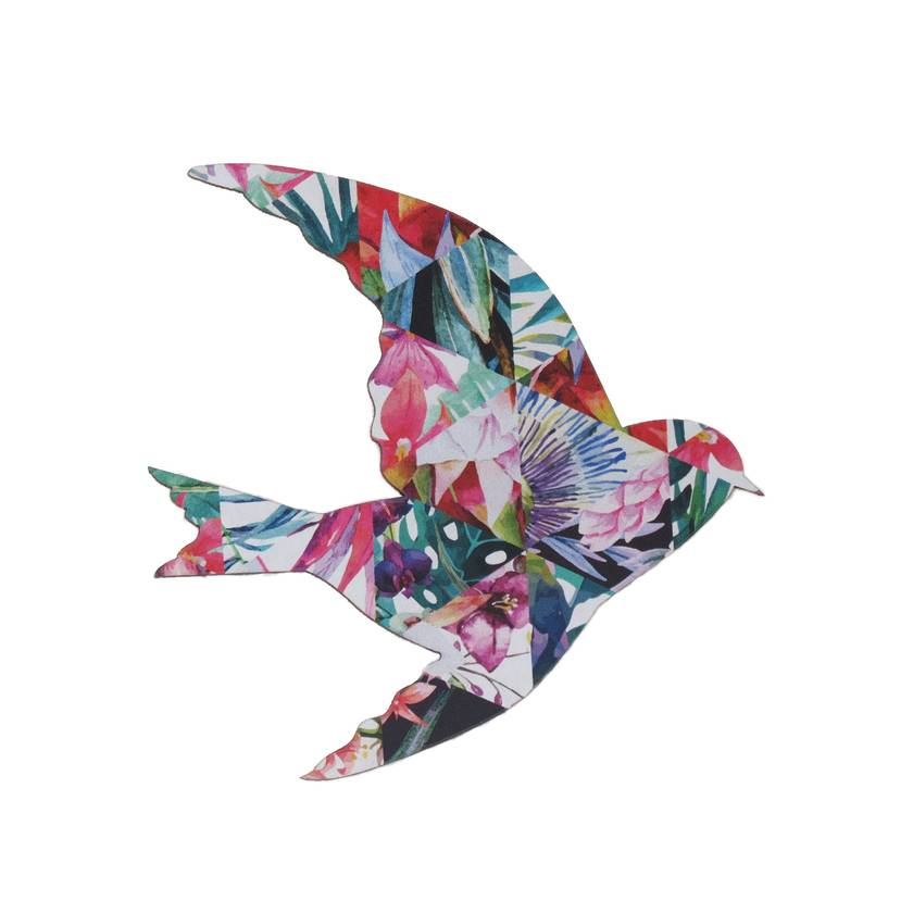 Tropical watercolor  Wall Art Birds