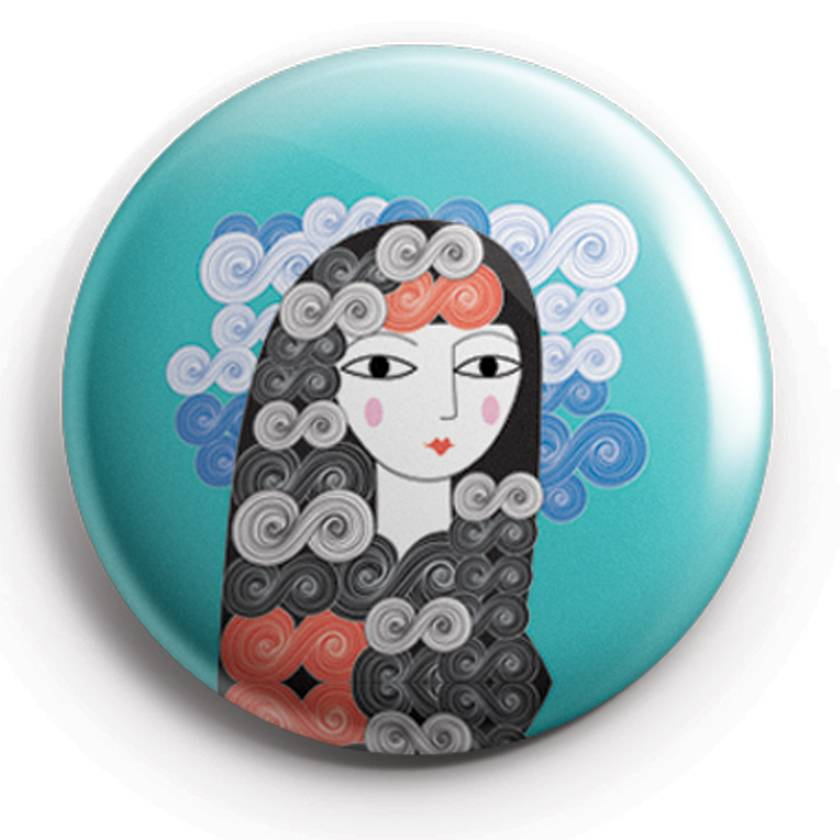 Trio of Gallery Girl Mini Magnets
