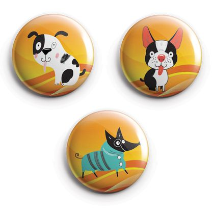 Dog Lovers Magnet set