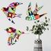 NZ Native Birds Wall Art Set  - Decor Nights Pattern