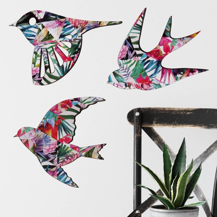 Tropical Bird Wall Art