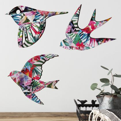 Tropical Bird Wall Art