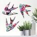 Watercolour Tropics NZ Native Bird Wall Art