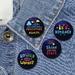 Dream & Adventure  badge set