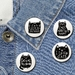Black Cats badge Set