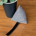 Catnip toy (striped cotton sateen)