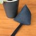 Catnip toy (navy linen)