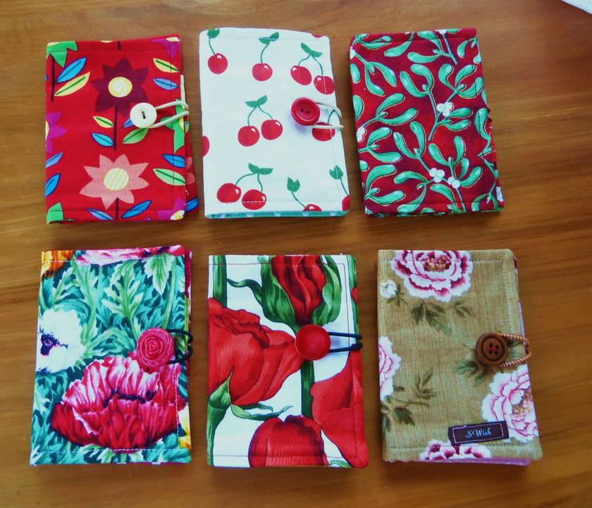 Gifts for Gardeners - Tea Wallets - Cherries only!