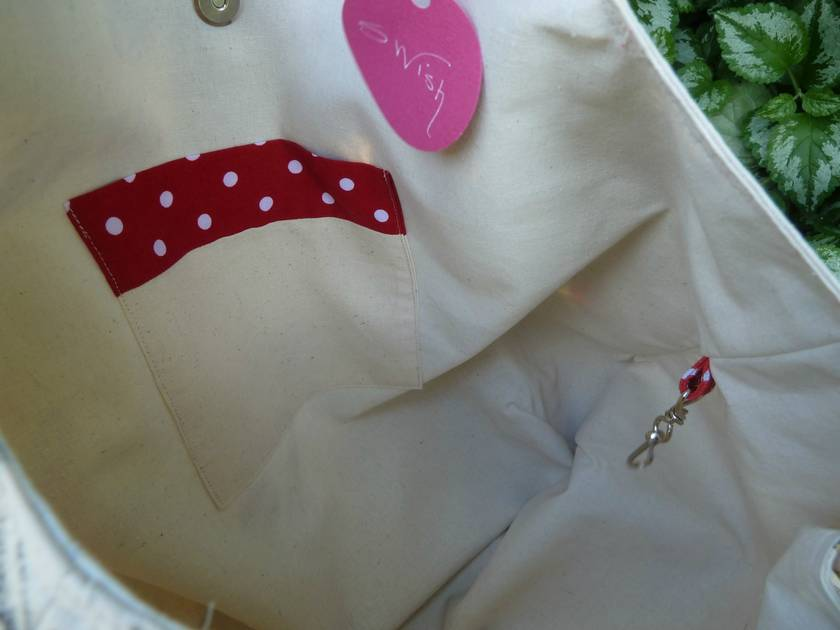 Bunnies & Toadstools - Large Cotton Linen Tote