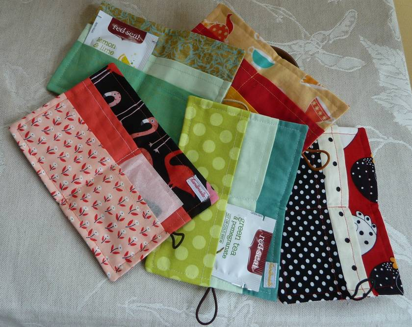 Tea Wallets x 24 - sale reserved for hseal
