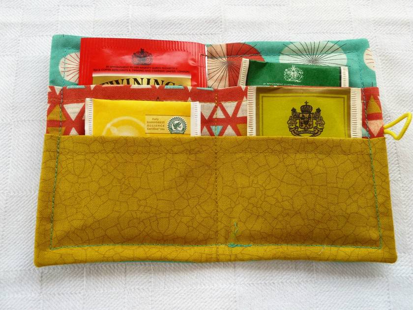 Cotton Tea Wallets - Ninja Cookies