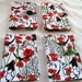 Cotton Tea Wallets - Poppy Hens
