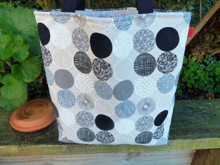 Tuesday Tote -  Linen & Cotton