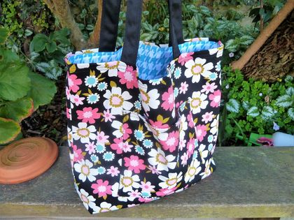 Flower Power  -  Cotton Tote