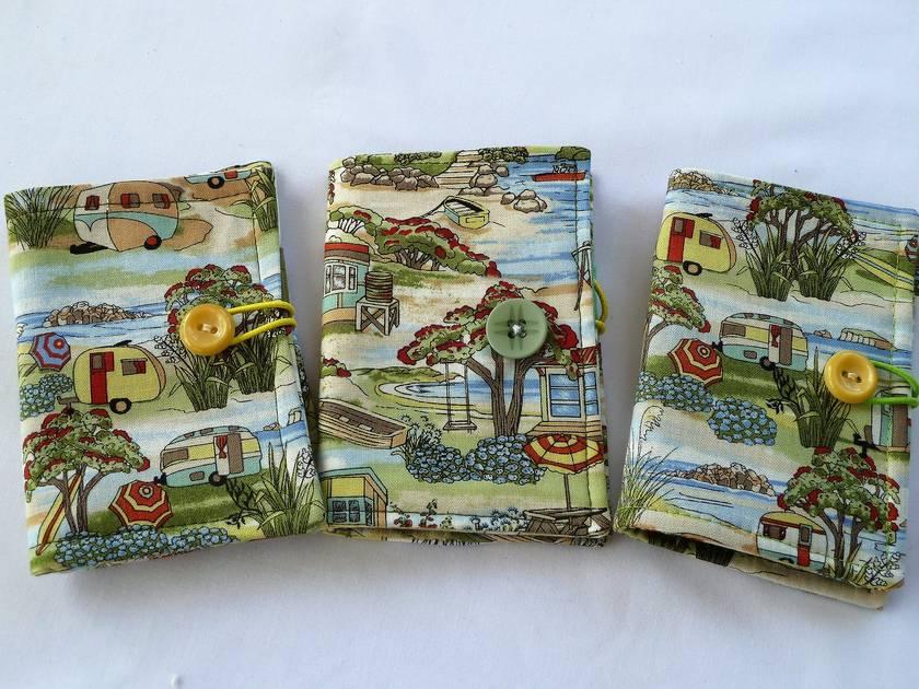Tea Wallets - Retro Kiwi Holiday Caravans