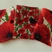 Poppies  -  Cotton Tea Wallets