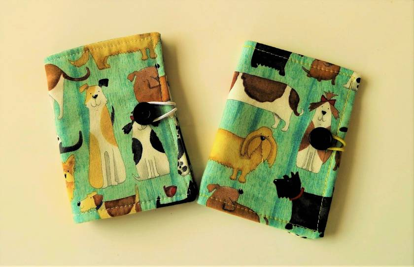 You Had Me At Woof  -  Cotton Tea Wallets