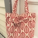 Red Leaves  -  Cotton Tote