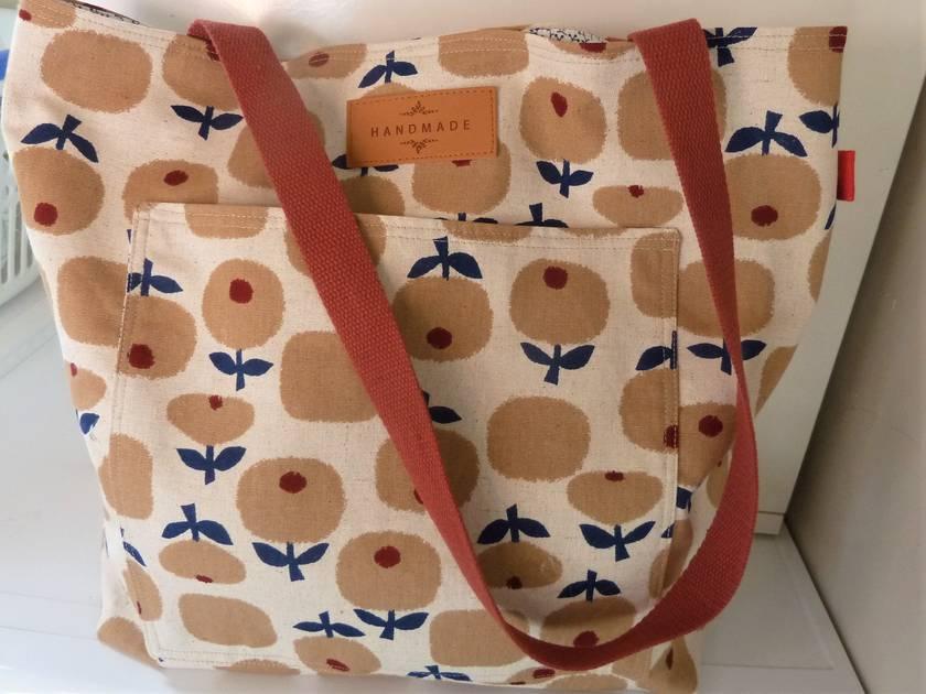 Tote - Linen/Cotton - Mod Flora