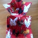 Chooks on Red - Microwave safe 100% Cotton Bowl Cosies