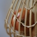 Handwoven Natural Rattan Hanging Onion Basket