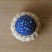 Handwoven Cane & Vintage Fabric Pincushion