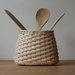 Handwoven Natural Rattan Utensil Holder