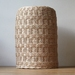 Handwoven Rattan Tall Banded Lampshade (Made to Order)
