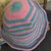 Hand crocheted child's hat