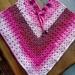 Pretty in pink poncho