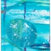 Hokitika Gorge 3 - original art greeting card