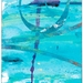 Hokitika Gorge 4 - original art greeting card