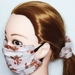 Reusable mask small to medium size with matching scrunchie/adult and teens.