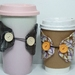 Cup sleeves/set of 2/coffee cozy