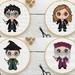 Harry Potter Character Cross Stitch Pattern
