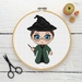 Minerva McGonagall Cross Stitch Kit